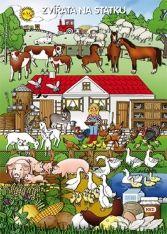 Tematický obraz: Tema Zvířata na statku Libra, Farm Activities, Farm Animals, Bowser, Education, Learning, Fictional Characters, Ms, Felt