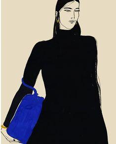 #Fashion #Woman #Illustration