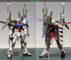 "Custom Build: MG 1/100 Perfect Strike Gundam Ver. RM ""Detailed Version"" - Gundam Kits Collection News and Reviews"