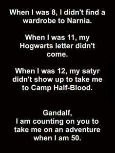 I wanted to go to Camp Half-Blood so bad :(