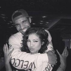 Drake & Jhene Aiko ☺️