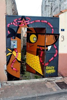 Wall paints, Muurschilderingen, Peintures Murales,Trompe-l'oeil, Graffiti, Murals, Street art.: Sète -  France