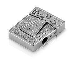 Stainless Steel Pendant - Puzzle Tetris Design