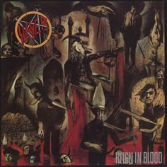 Caratula Frontal de Slayer - Reign In Blood