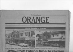 The 80s as a decade of change . . . Cottrell's 5 & 10 was going out and there was a Sbarro ON PARK AVENUE!  Oy.  Well . . . which things REALLY stick around the longest?  The LOCAL, small & independent . . . the unique and the special!  Go small & stay LOCAL, Winter Park, Florida! #iluvwinterpark #vintagewinterpark