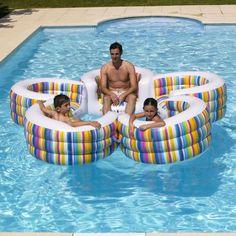 Fauteuil piscine Tutti Frutti #bouée #bouées #flottante #gonflable #piscine #fun #desjoyaux #laboutiquedesjoyaux #détente #pool #float #summer #été #pools