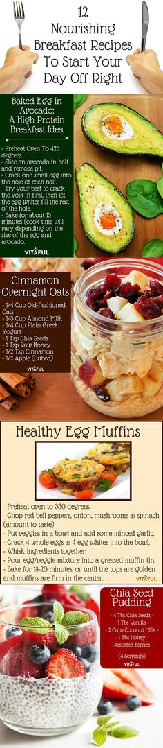 Healthy Breakfast Recipes To Start Your Day Off Right. Click To See All 12 Recipes | http://guthealthproject.com/12-nourishing-breakfast-recipes-to-start-your-day-off-right/