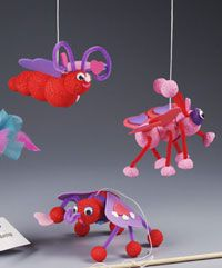 Bouncing Love Bugs crafts to do with kids!