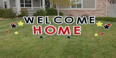 Welcome Home Parker Yard Greetings is a local, family owned business. We provide a unique and fun way to help celebrate any event!  PYG takes pride in helping you surprise someone special, show someone you care, make an announcement or just make someone's day with our exceptional curb appeal.  We will deliver your personalized Yard Greeting after 8pm the night before your event or celebration and pick it up after 8pm the following day. Your yard will be the talk of the neighborhood!