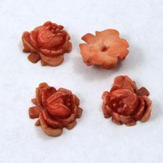 12mm Light Terracotta Rose - General Bead