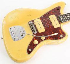 Fender Jazzmaster 1961 Blonde Over Ash | Reverb