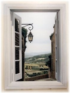 A mural of Provence, France by painter Ron Francis appearing in the ARTerrain section of Issue 7 on http://terrain.org/. View the entire gallery here: http://www.terrain.org/arterrain/7/gallery.htm
