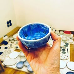 Color my day  #urban_pottery #slowmade  #slowliving # pottery #instapottery #colors #blueisthecolor #royalblue #pinchpot #tableware #potteryfprall #potterylove #creativelifehappylife #patterndesign #simpleandstill #thatsdarling
