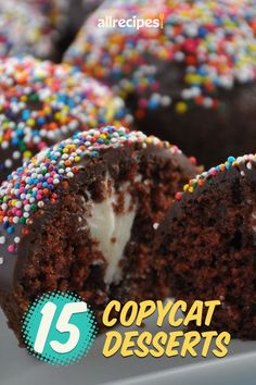 """15 Copycat Desserts to Satisfy Your Sweet Tooth 