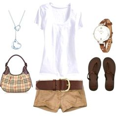 37 Comfy Khaki Shorts Outfits For A Relaxed You