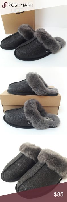 I just added this listing on Poshmark: New UGG Scuffette Sparkle Slippers Size Ugg Sale, Uggs On Sale, Size 10, Slippers, Sparkle, Shoes, Shopping, Style, Fashion