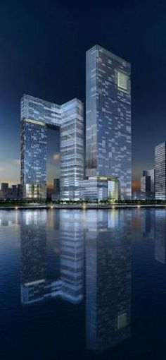 Xiamen Eton Center, Xiamen, China by RMJM Architects :: proposal