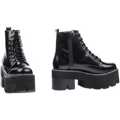 Jeffrey Campbell Ankle Boots (2.352.960 IDR) ❤ liked on Polyvore