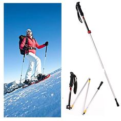 High Strength Walking Poles Collapsible EVA Foam Handle Trekking Poles Hiking Sticks for Travel Hiking Climbing Ultralight Aerospace Aluminum alloy *** To view further for this article, visit the image link. Walking Poles, Hiking Gear, Mountaineering, Trekking, Climbing, Sticks, Helpful Hints, Strength, Image Link