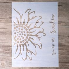 Buy Size DIY Craft Layering Mandala Elephant Owl Feather Stencils for Walls Painting Airbrush Wall Art Canvas Wood Furniture Cards Painting Art Projects Scrapbooking Stamping Album Decorative Embossing Paper Cards at Wish - Shopping Made Fun Word Stencils, Mandala Stencils, Stencil Templates, Stencil Patterns, Stencil Diy, Stencil Painting, Stencil Designs, Painting On Wood, Stenciling