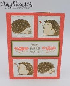 Stampin' Up! Hedgehugs with Tutti-Frutti Card – Stamp With Amy K