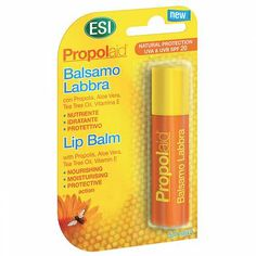Prezzi e Sconti: And yes propolaid lip balm honey lip balm  ad Euro 3.67 in #Esi spa #Hygiene and grooming face