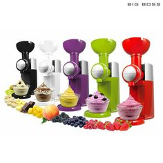 Swirlio Frozen Fruit Dessert Maker - Assorted Colors at 51% Savings off Retail!