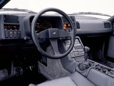 Car Interiors • 1985 Renault Alpine GTA V6 Turbo