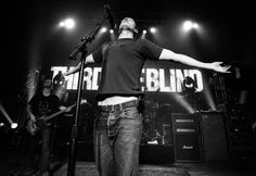 Third Eye Blind -  I've seen 3EB twice. The first time, I saw them at a pretty intimate show at the Palace Theater in Greensburg, PA. I then saw them headline a show at St. Vincent College. I was the 10th person in line and stood front and center.