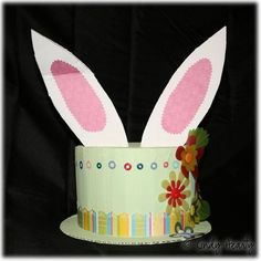 I was looking for ideas for EB's easter hat for daycare and came across this.