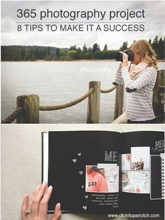 365 Photography Project Tips via Click it Up a Notch