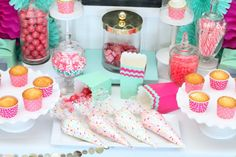 cupcake wars birthday party decorating station