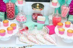 cupcake wars birthday party decorating station