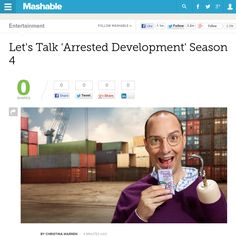 http://mashable.com/2013/05/26/arrested-development-liveblog/ Lets Talk Arrested Development Season 4 | #Indiegogo #fundraising http://igg.me/at/tn5/