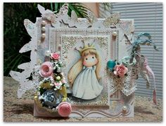 Magnolia cards by Barbara GR: Photo inspiration at Lovely hÄnglar or Sweet Magnolia Challenge