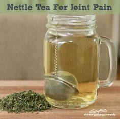 Nettle Tea For Joint Pain Relief...http://improvedaging.com/nettle-tea-for-joint-pain-relief/