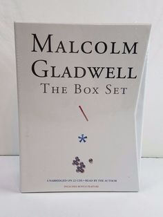 Malcolm Gladwell 22 CD Box Set Outliers Blink The Tipping Point Audio Books NEW