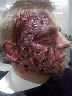 yummy....sfx makeup by Angela Tedesco https://m.facebook.com/funwithmakeupbyang/