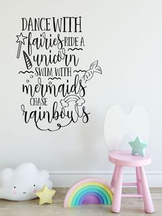 Fairies & Unicorns & mermaids....