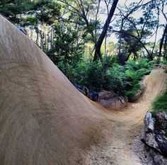 Dirt Bike Track, Bmx Dirt, Mtb Trails, Park Trails, Bmx Bicycle, Mtb Bike, Jump Park, Dirt Jumper, Roller Design
