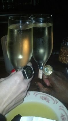 A wonderful *CLINK!* with #WearingMemories & @TravelingFlute!