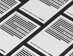 We were asked to design a visual identity for text editor and proofreader Monika Buraczyńska working under the name of Dots and Lines [Kropki – Kreski].