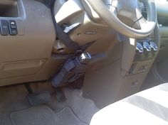 Car Steering Column Holster and Mount - The Well Armed Woman = SIZE 2-6: S Bodyguard .38