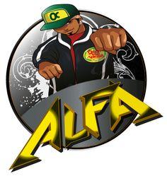GrafikZone - Version 2 logo pour chanteur de rap