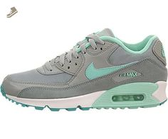 Nike AIR MAX 90 ESSENTIAL Womens Sneakers Running Shoes 616730-011 (USW 6) - Nike sneakers for women (*Amazon Partner-Link)