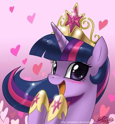 Pretty Pretty Princess Twilight by *johnjoseco on deviantART