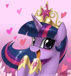 Pretty Pretty Princess Twilight by *johnjoseco on deviantART