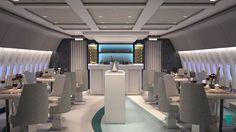 Crystal Skye, modern tasarımından Michelin yıldızlı yemeklerine uçakta lüks tanımını yeniden yapıyor.