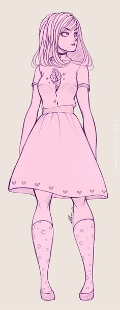 Ev. Summer outfit by AShiori-chan on DeviantArt