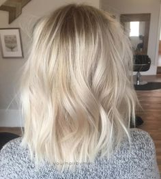 warmer color, root smudge ideal
